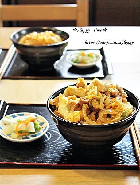 おうちランチは親子丼とさくらふるフラぺチーノ♪_f0348032_18041357.jpg