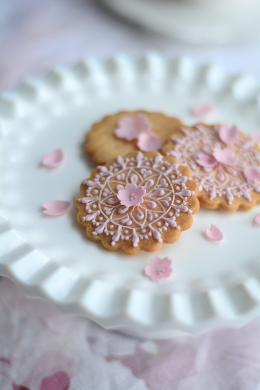 天然色素のアイシングクッキーレッスン「桜」_b0125541_22405660.jpg