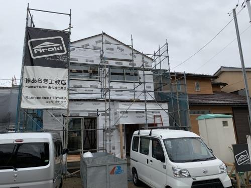 「三角屋根のかわいいお家」@内灘_b0112351_16120718.jpeg
