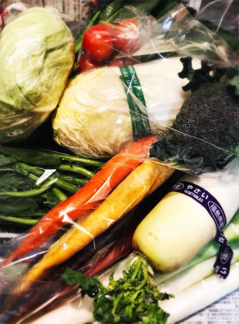 えがお福島さんの野菜セット_a0342172_23443386.jpg