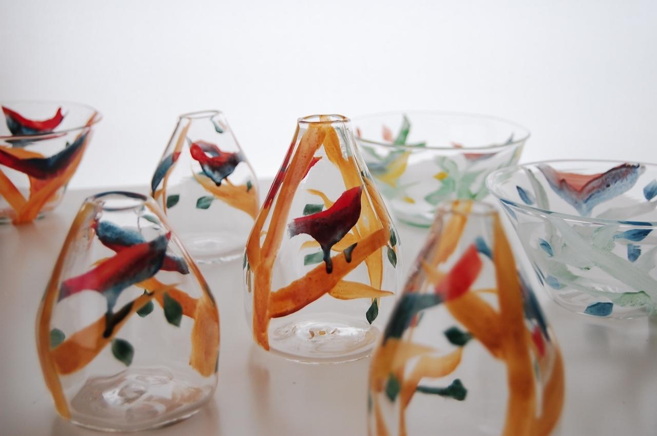 芽吹き展 中野由紀子さんの 鳥と木とシリーズ2_b0353974_14413605.jpg