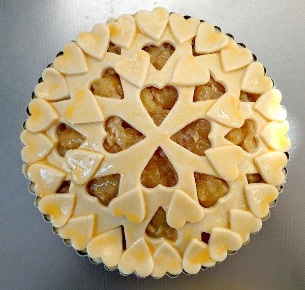 【手作りお菓子】型抜きもようのパイの作り方【クッキー型で模様をつけたよ】_d0272182_17032961.jpg