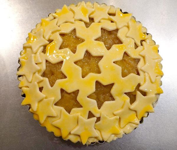 【手作りお菓子】型抜きもようのパイの作り方【クッキー型で模様をつけたよ】_d0272182_17032984.jpg