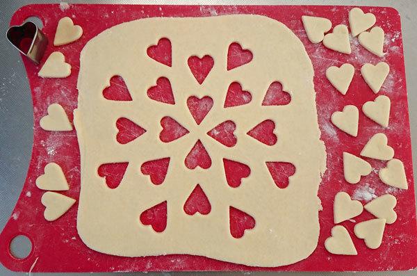 【手作りお菓子】型抜きもようのパイの作り方【クッキー型で模様をつけたよ】_d0272182_17032986.jpg