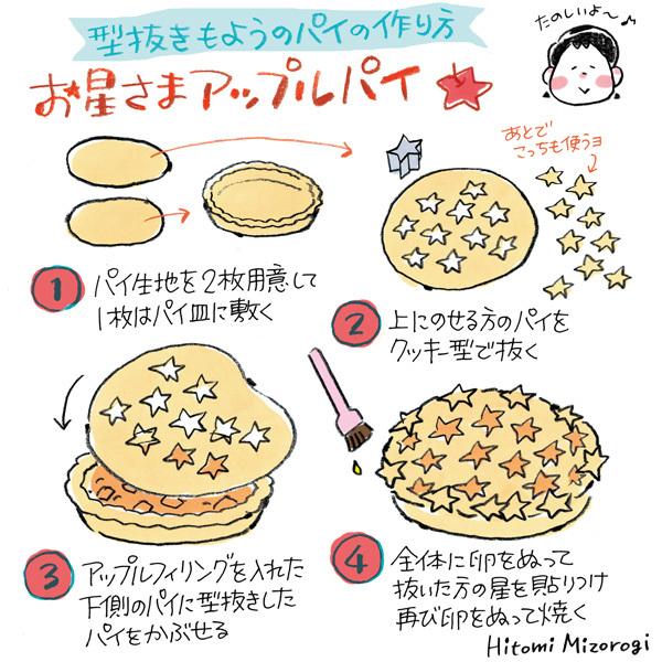 【手作りお菓子】型抜きもようのパイの作り方【クッキー型で模様をつけたよ】_d0272182_17034212.jpg