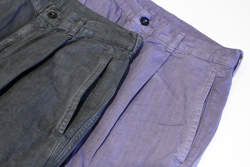 "Ordinary fits (オーディナリーフィッツ) "" BROWN PANTS \""_b0122806_13102282.jpg"