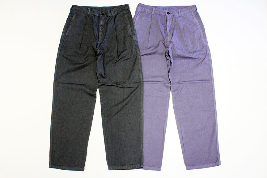 "Ordinary fits (オーディナリーフィッツ) "" BROWN PANTS \""_b0122806_13103397.jpg"
