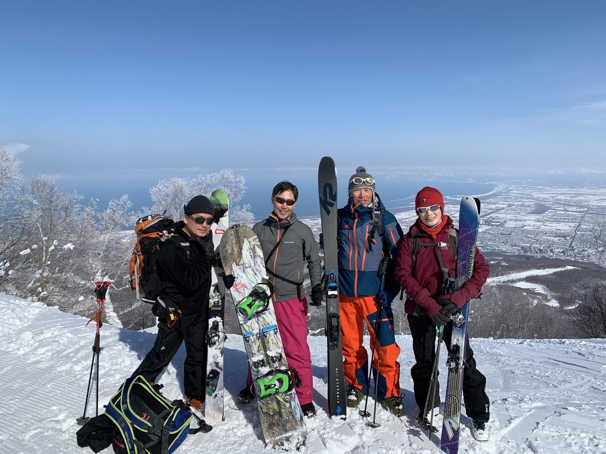 """2019年2月 『白銀の山、素敵な仲間たち、良い一日』 February 2019 \""""Snow Mountains, Good Friends\""""_c0219616_20252113.jpg"""