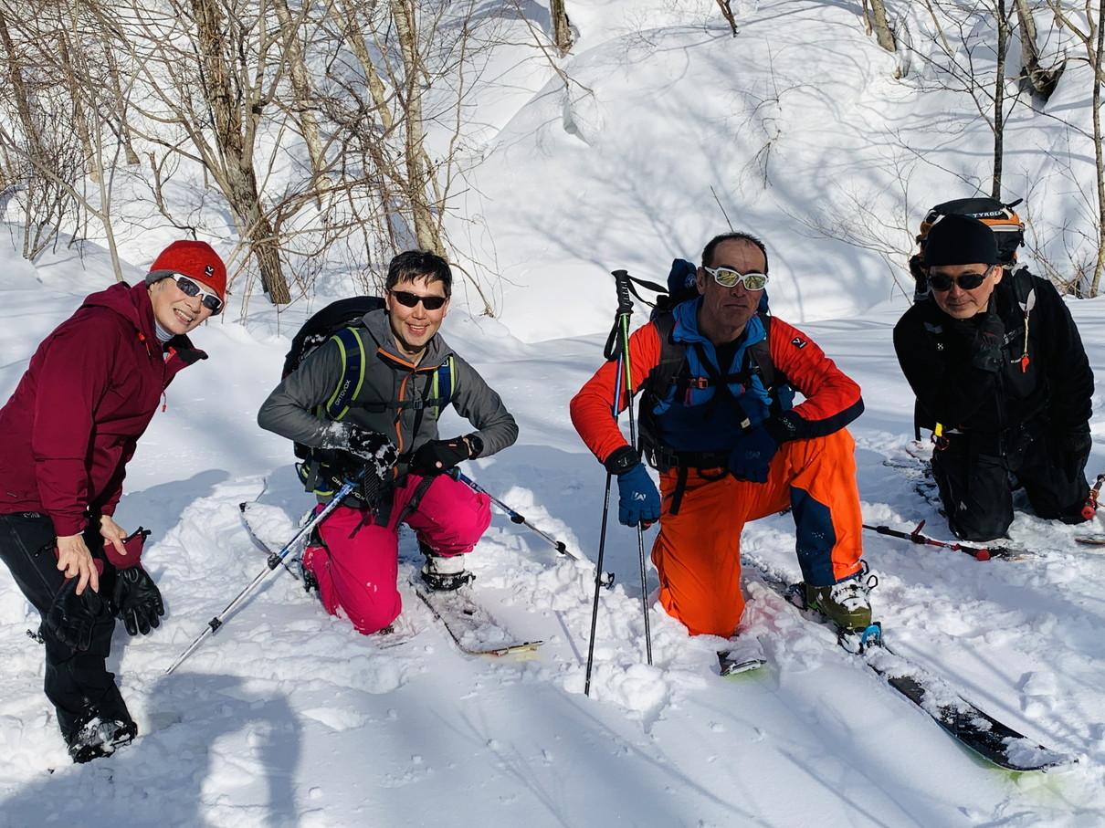 """2019年2月 『白銀の山、素敵な仲間たち、良い一日』 February 2019 \""""Snow Mountains, Good Friends\""""_c0219616_20434341.jpg"""
