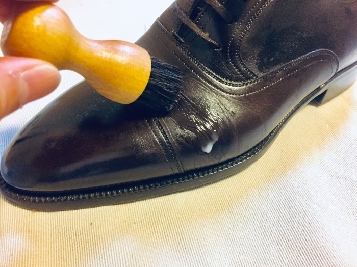 M.モゥブレイ・デリケートクリームで靴にも潤いを_b0226322_11563097.jpg