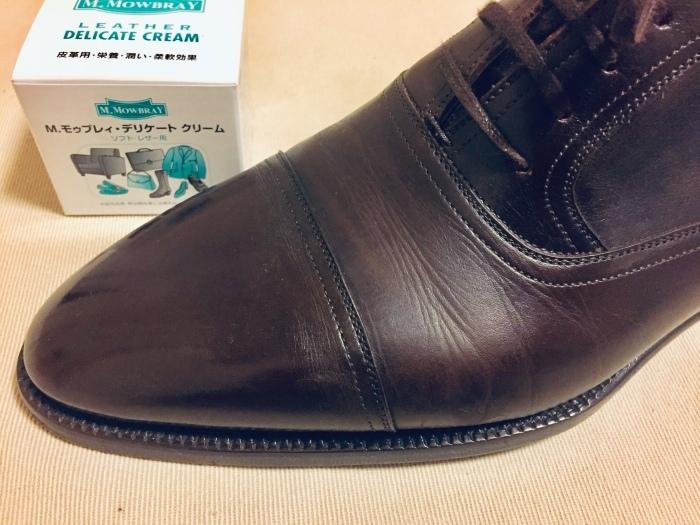 M.モゥブレイ・デリケートクリームで靴にも潤いを_b0226322_11563171.jpg