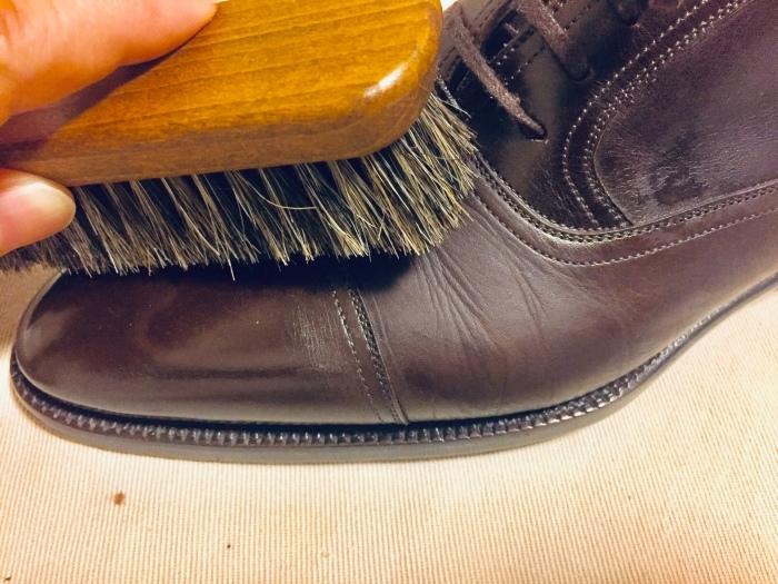 M.モゥブレイ・デリケートクリームで靴にも潤いを_b0226322_11563172.jpg