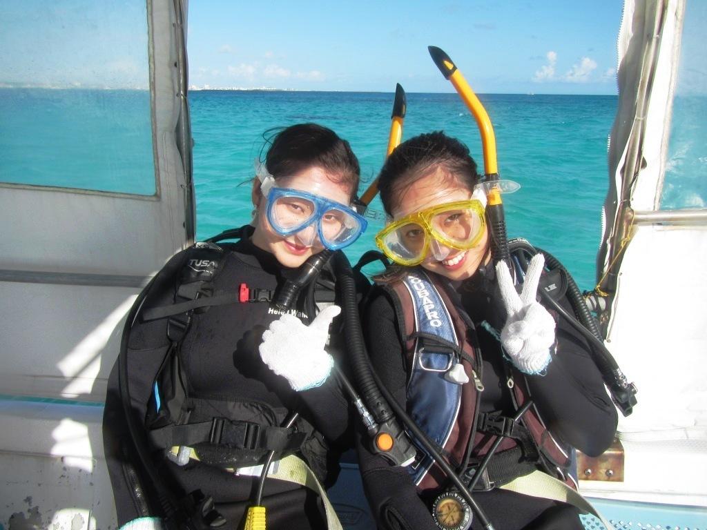 卒業旅行で体験ダイビング~☆_a0189838_22552051.jpg