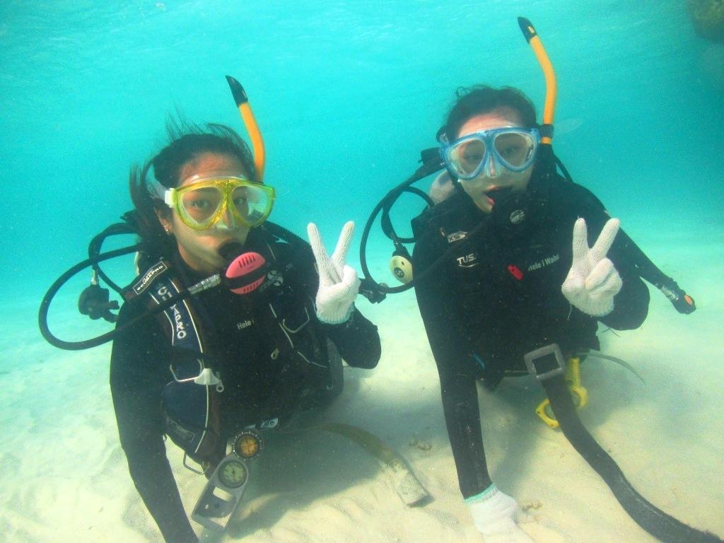 卒業旅行で体験ダイビング~☆_a0189838_22555088.jpg