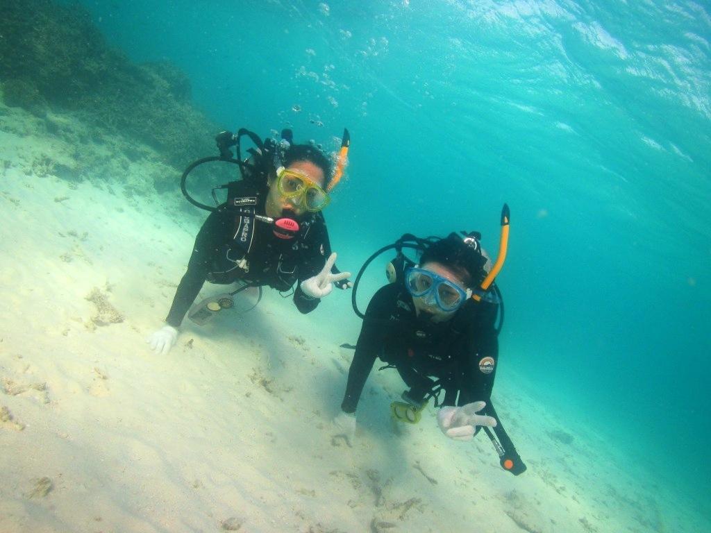 卒業旅行で体験ダイビング~☆_a0189838_22591591.jpg