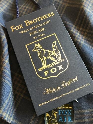 2019 春夏の新着!「FOX BROTHERS」 編_c0177259_20503851.jpeg