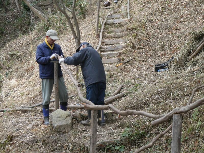 ぼうけん山入口整理・・・うみべの森_c0108460_17321209.jpg