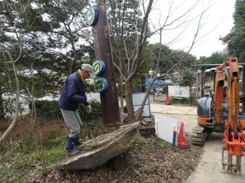 ぼうけん山入口整理・・・うみべの森_c0108460_17345212.jpg
