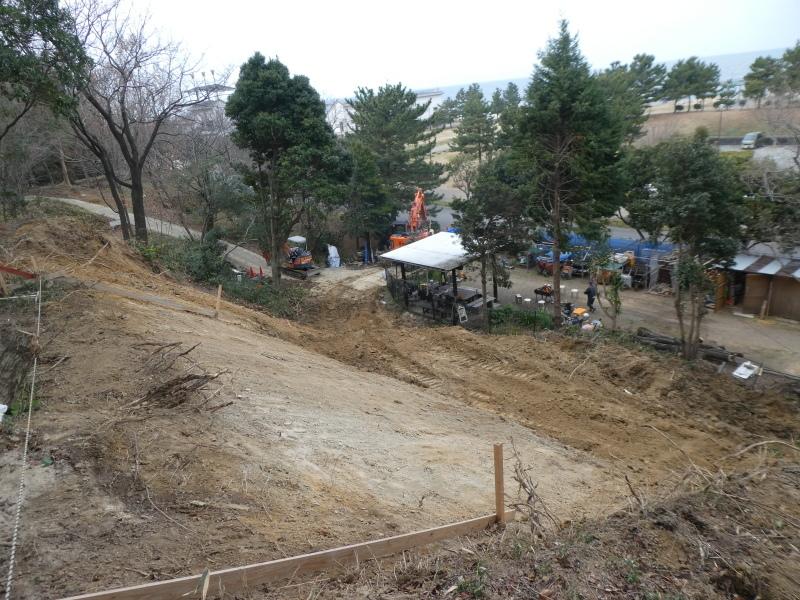 ぼうけん山入口整理・・・うみべの森_c0108460_17422427.jpg