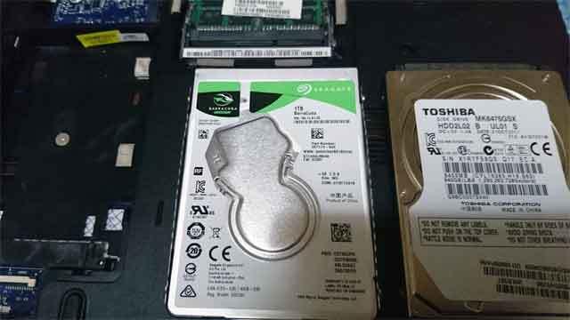 福岡市中央区警固: ハードディスク故障・交換 - HDDパソコン修理