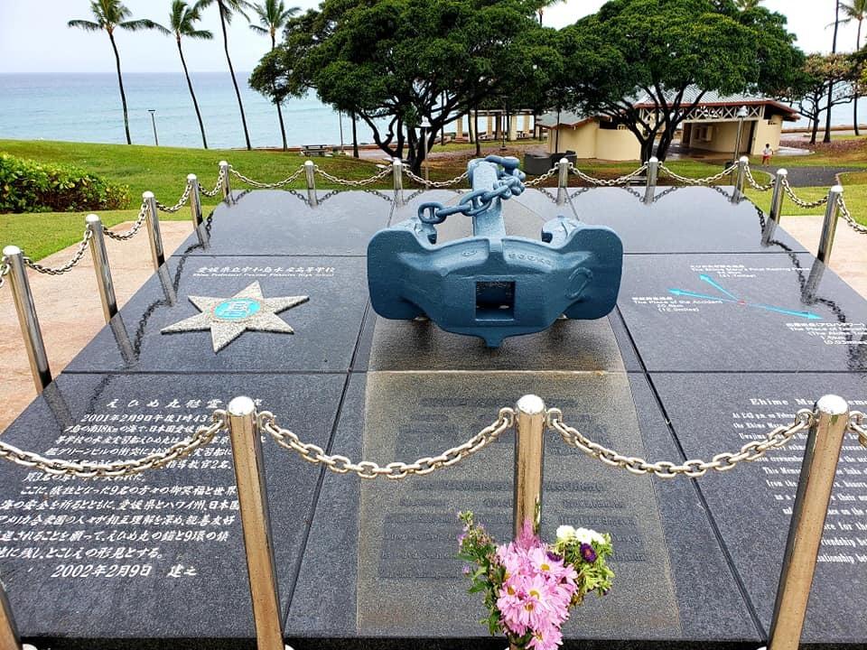 愛媛丸の碑に手を合わせて、ハワイでの全ての予定を終了しました。_c0186691_10111815.jpg