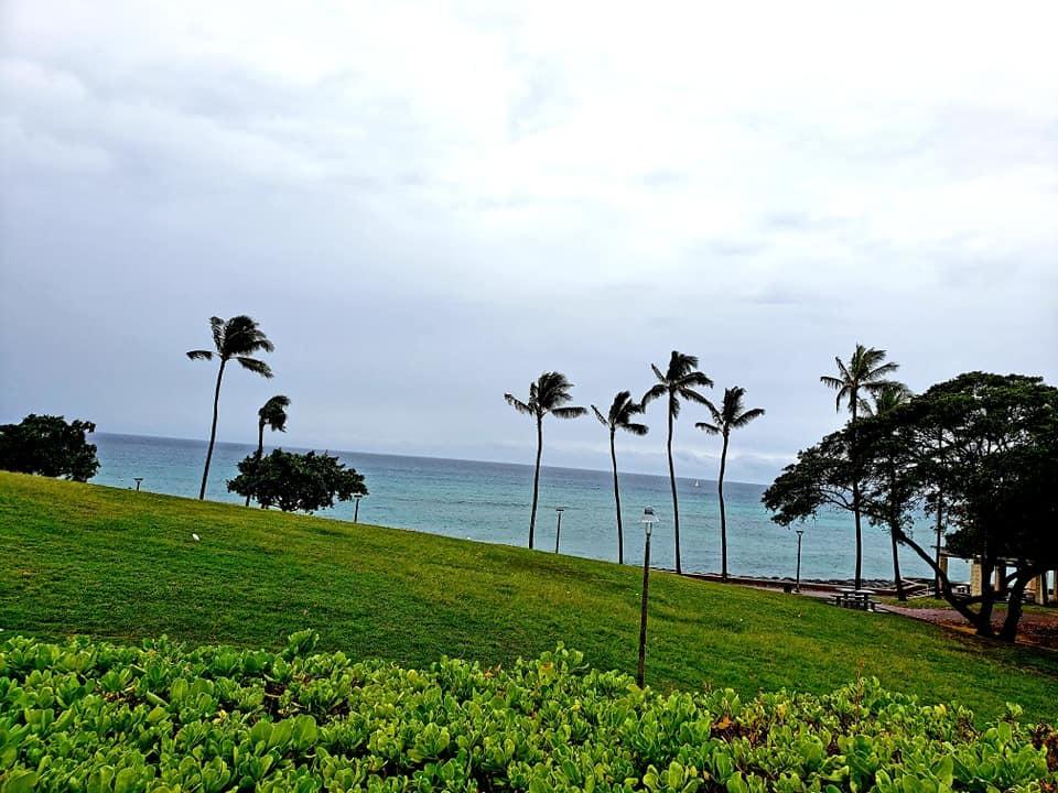 愛媛丸の碑に手を合わせて、ハワイでの全ての予定を終了しました。_c0186691_10163637.jpg