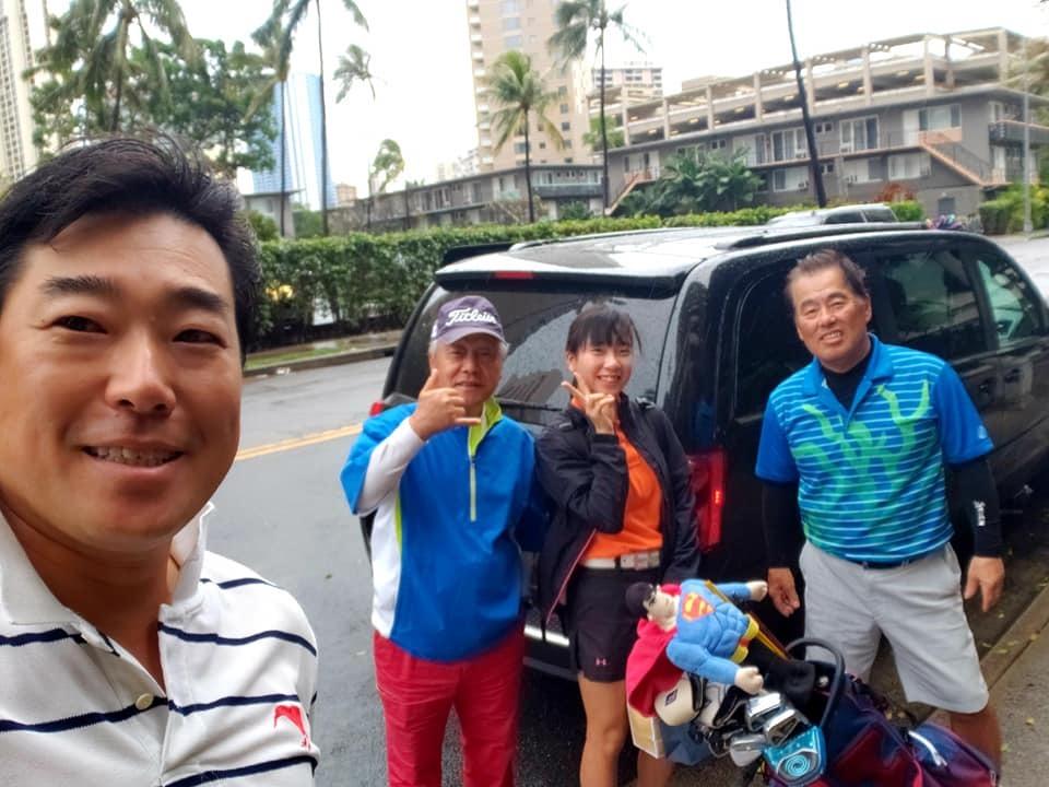 愛媛丸の碑に手を合わせて、ハワイでの全ての予定を終了しました。_c0186691_10180585.jpg
