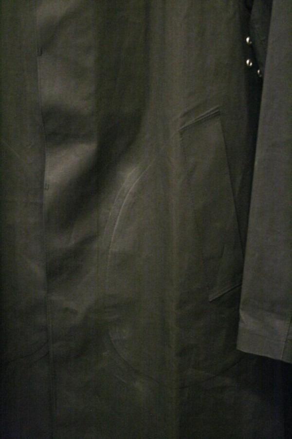 差し入れ。入荷メンズコート。マッキントッシュ、ゴム引き、アーペーセー_f0180307_22113070.jpg