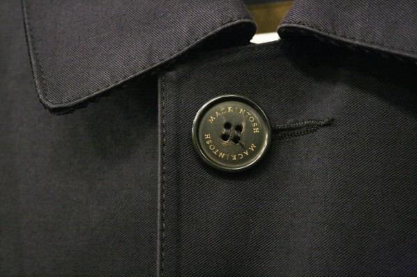 差し入れ。入荷メンズコート。マッキントッシュ、ゴム引き、アーペーセー_f0180307_22143615.jpg