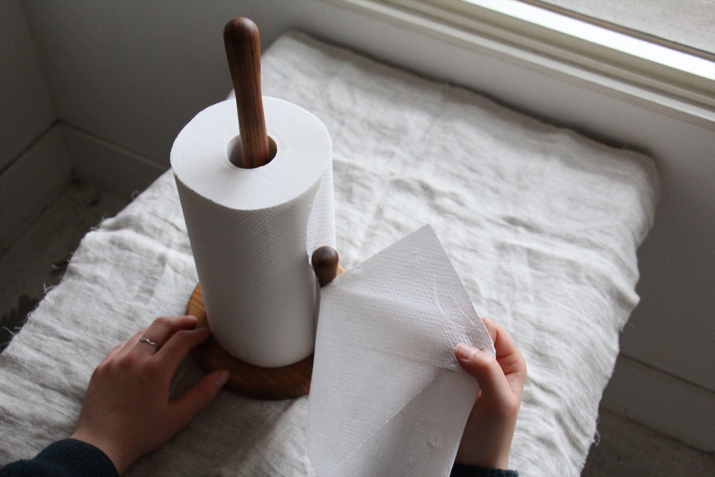 wood キッチンペーパーホルダー_b0165512_18423669.jpg