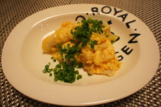 【長ネギとチーズの卵炒め(レシピ)】_f0215714_16323278.jpg