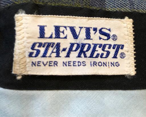 2月23日(土)入荷!70s~ Levi\'s STAーPREST  リーバイス スタプレ スラックス!_c0144020_13384302.jpg