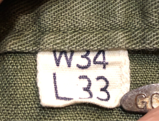 2月23日(土)入荷!40s WW2 M-43 13STAR HBT カーゴパンツ!実物_c0144020_14573967.jpg