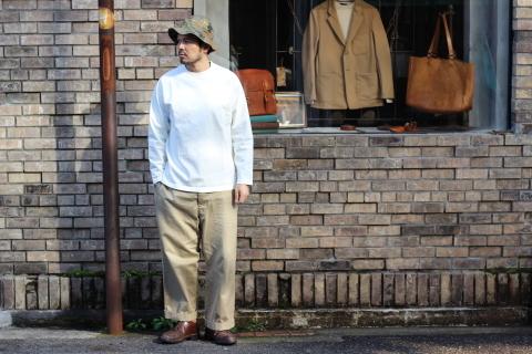 """「Jackman」 安心感のある\""""Dotsume LS Shirt\"""" ご紹介_f0191324_07403574.jpg"""