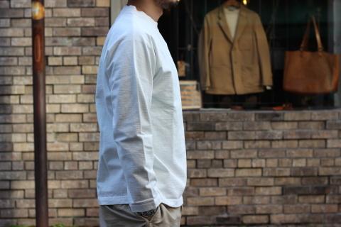 """「Jackman」 安心感のある\""""Dotsume LS Shirt\"""" ご紹介_f0191324_07410174.jpg"""