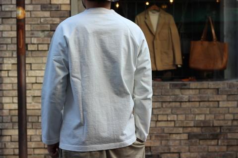 """「Jackman」 安心感のある\""""Dotsume LS Shirt\"""" ご紹介_f0191324_07411091.jpg"""