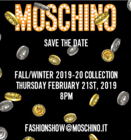 モスキーノのファッションショー_c0223630_14143318.jpg