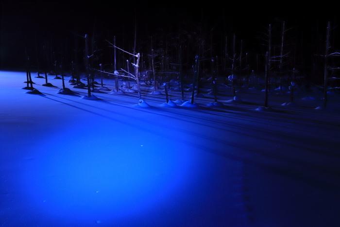 【青い池】北海道旅行 - 5 -_f0348831_21144993.jpg