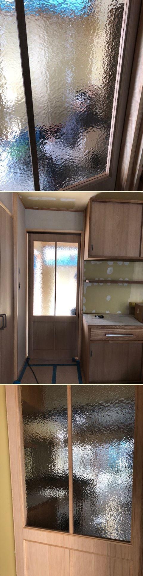 厚木市妻田の家☆建具工事が始まっていました_c0152341_15150539.jpg