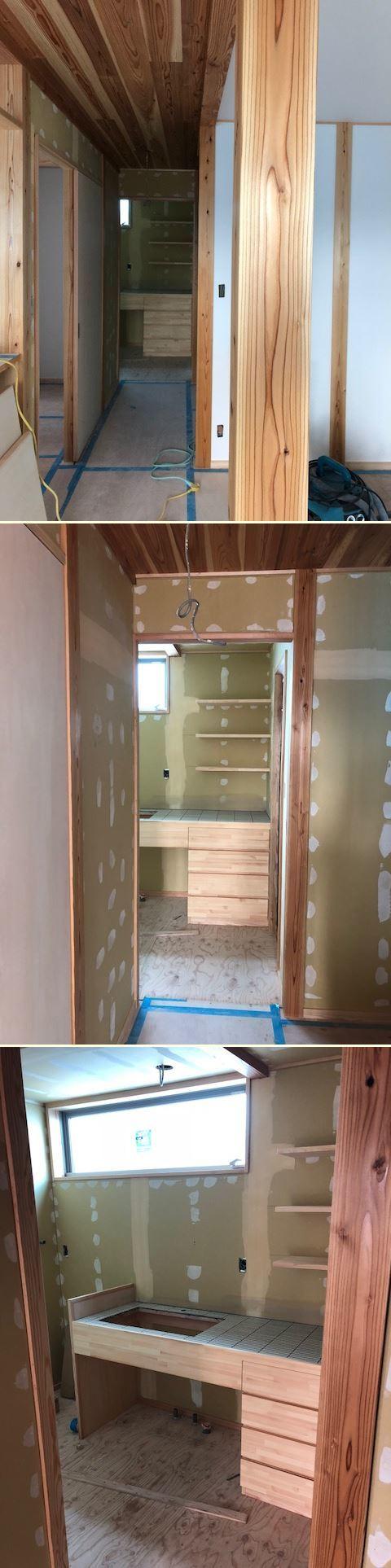 厚木市妻田の家☆建具工事が始まっていました_c0152341_15165765.jpg