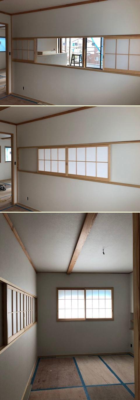 厚木市妻田の家☆建具工事が始まっていました_c0152341_15204476.jpg