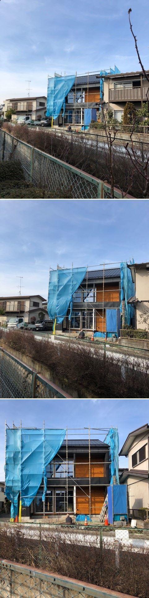 厚木市妻田の家☆建具工事が始まっていました_c0152341_15210851.jpg