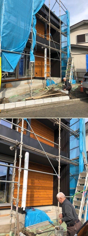 厚木市妻田の家☆建具工事が始まっていました_c0152341_15215725.jpg