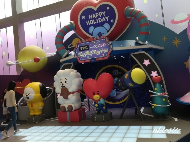 BT21 MEETS The ONE 冬日夢幻漫遊宇宙@The ONE_b0248150_13524560.jpg