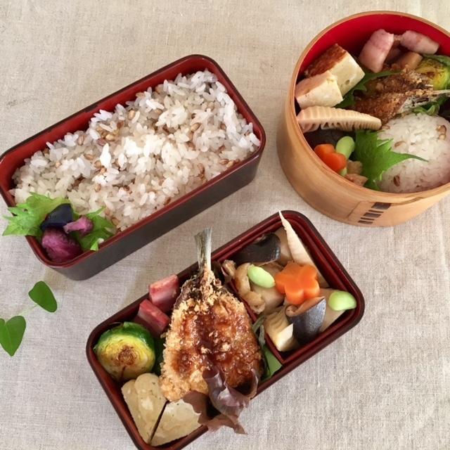 lunch box  × 4 冬~春へ_a0165160_22293397.jpg