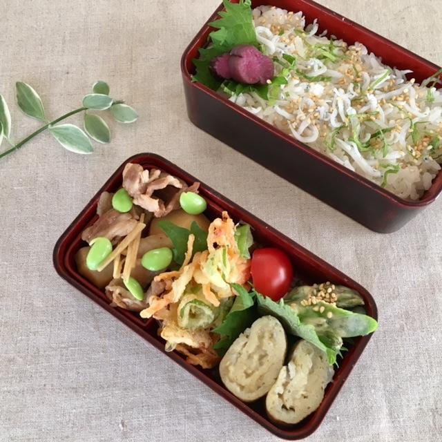 lunch box  × 4 冬~春へ_a0165160_22324375.jpg