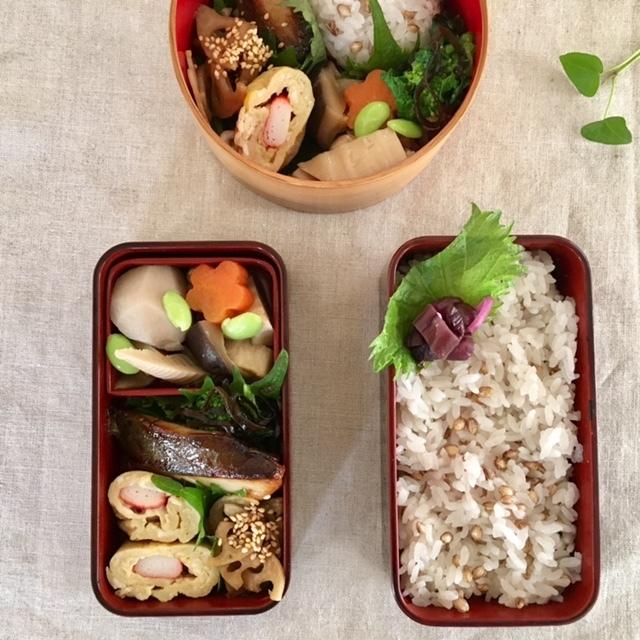 lunch box  × 4 冬~春へ_a0165160_22350598.jpg