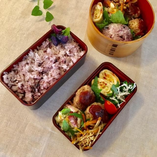 lunch box  × 4 冬~春へ_a0165160_22471113.jpg
