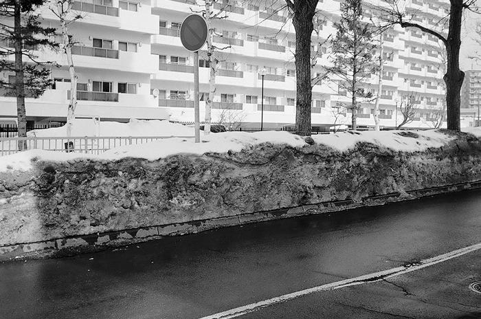 汚れた雪で馬糞風を思い出したことと昨夜の余震_c0182775_1722514.jpg