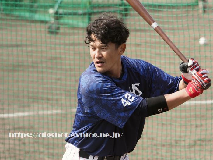 坂口智隆選手2019沖縄キャンプその2(動画2)_e0222575_16203510.jpg